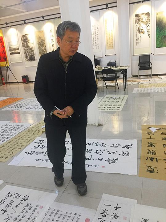 著名书法家杨志恒老师