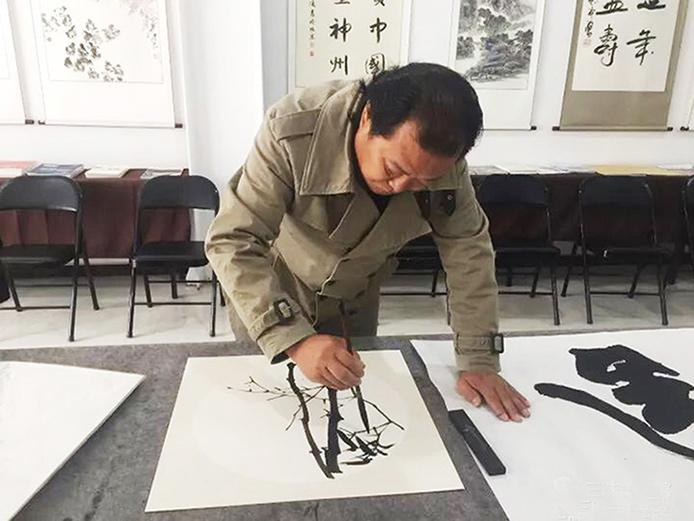 著名画家刘家生老师
