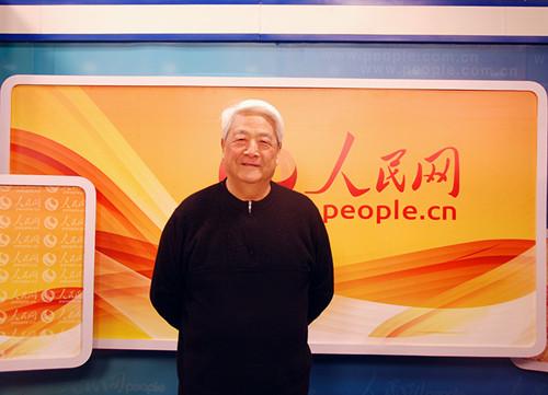 2015年徐建中做客人民网
