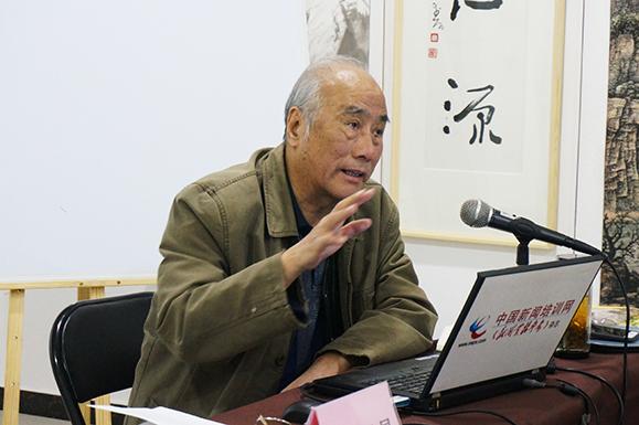 人民日报海外版原副总编辑  刘国昌