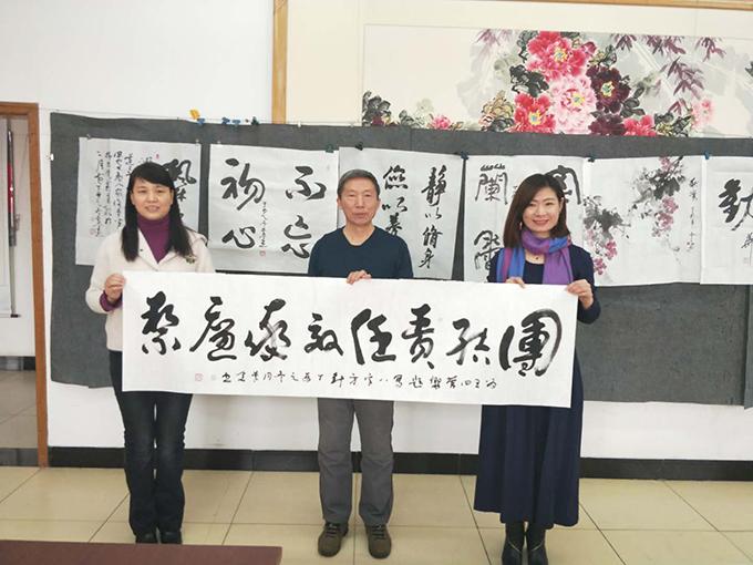 中国新闻培训网传统文化艺术走进王四营社区