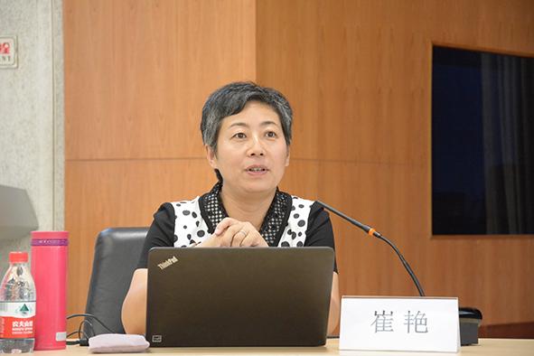 中国青年政治学院新闻与传播学院副教授崔艳