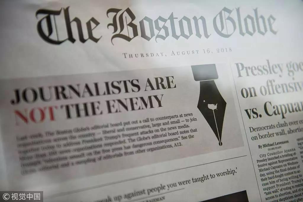 """特朗普是如何把媒体变成""""反对派""""的"""