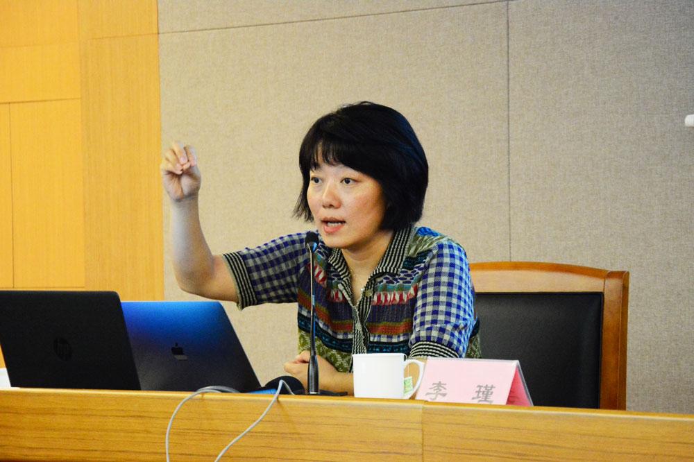 全国总工会《中国工人》杂志总编、中国新闻奖获得者李瑾