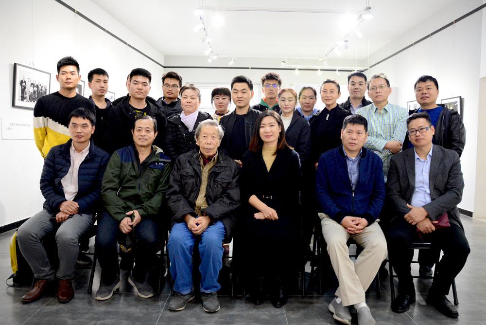 蒋铎影友见面会在北京三昧艺术馆举行