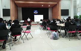 我网承办首都机场商贸有限公司通讯员培训