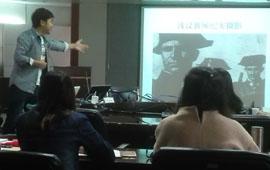 我网为中钞特种防伪公司举办新闻摄影培训班