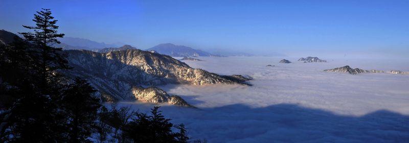 成都第一峰——西岭雪山